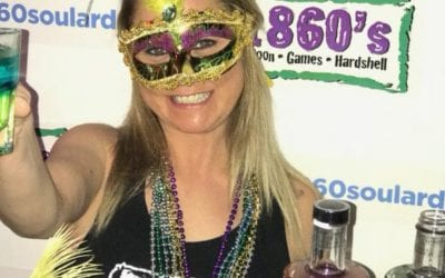 Party at the 1860s Mardi Gras HEATED Tent Event with LIVE Music!