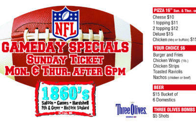 Enjoy NFL Sunday Ticket in the Game Room!