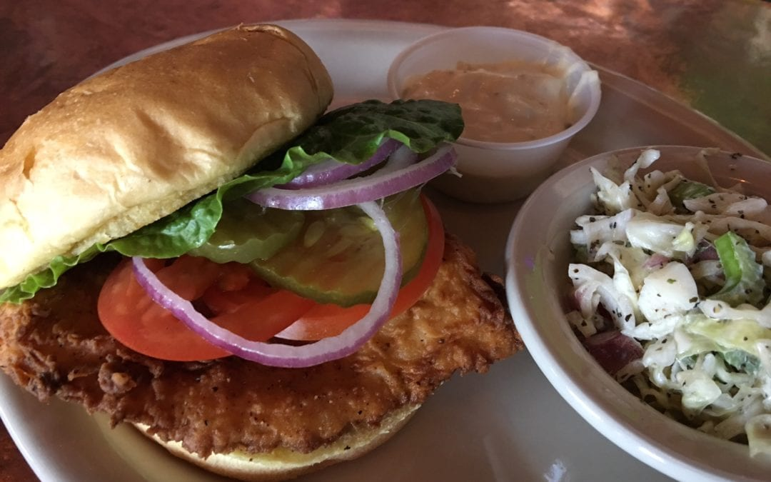 Lunch Special: Fish Filet Sandwich
