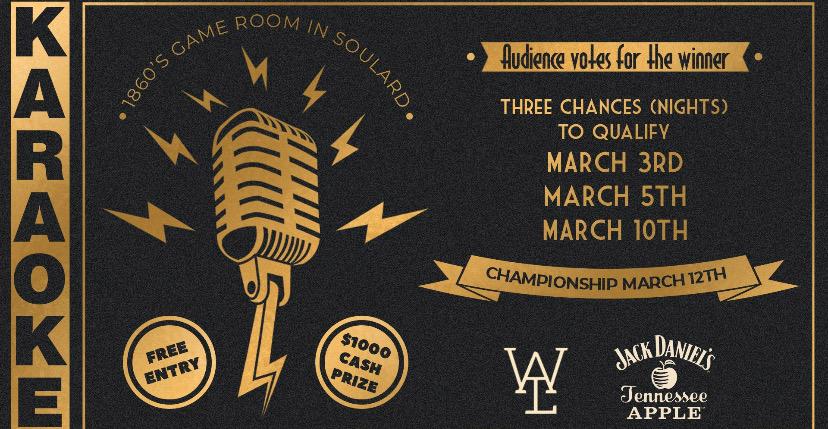 1860s Game Room $1,000 Karaoke Challenge!